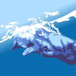豊橋の高塚海岸にマッコウクジラの死骸が漂着!