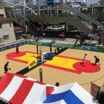 今、豊橋のストリートバスケがアツイ!「豊橋バスケットボール 3×3 トーナメント Round1」に行ってきた!