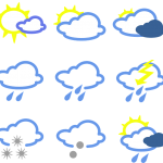 豊橋の天気予報提供サービスを始めました!